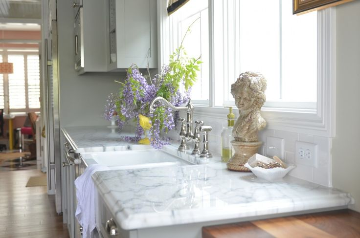 Living with Marble Countertops and why I shouldn't have them even though I really, really want them