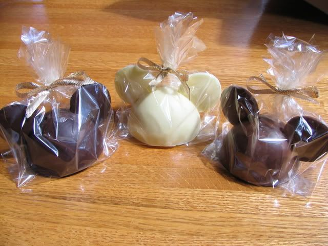 Disney chocolate wedding favors question... - The DIS Discussion Forums - DISboards.com