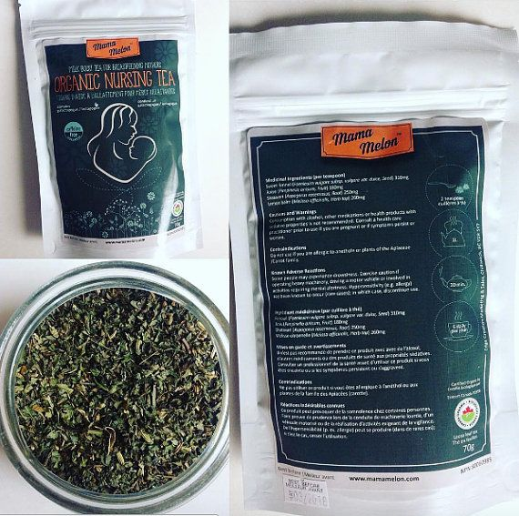 approved Natural Health Product Up To 4 Weeks Tea by MamaMelonCA