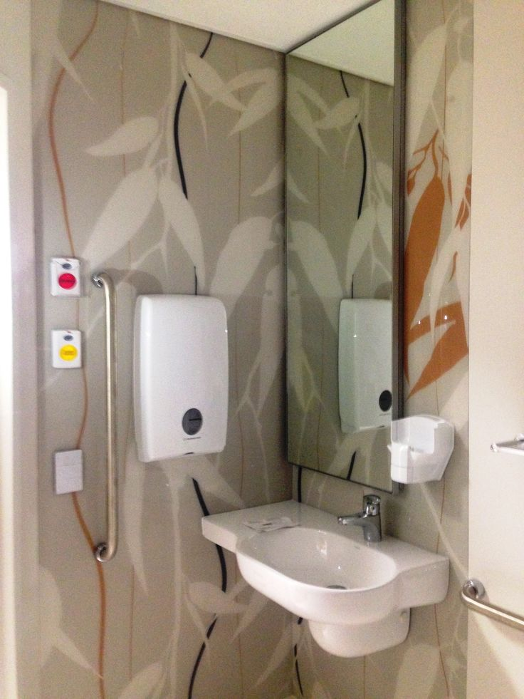 Design found by client, reverse printed onto acrylic. Mater Hospital, QLD.