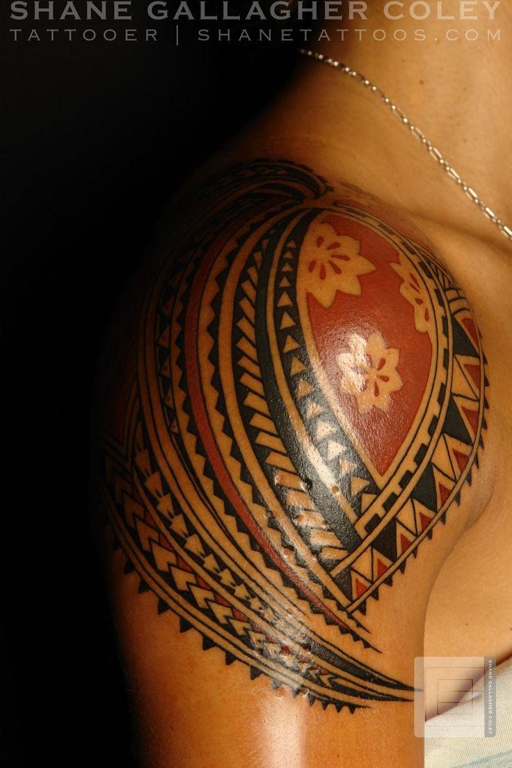 polynesian tattoos polynesian shoulder tattoo tattoo ideas pinterest shoulder tattoo. Black Bedroom Furniture Sets. Home Design Ideas