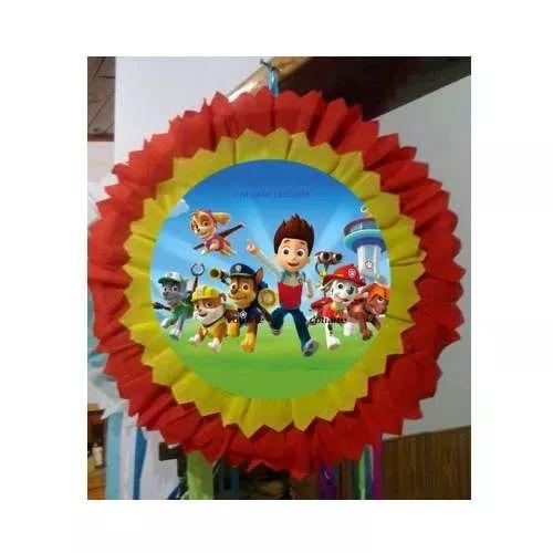 Piñatas, Paw Patrol, Cotillon Infantil - $ 195,00