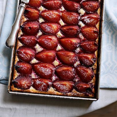 how to make plum cake at home