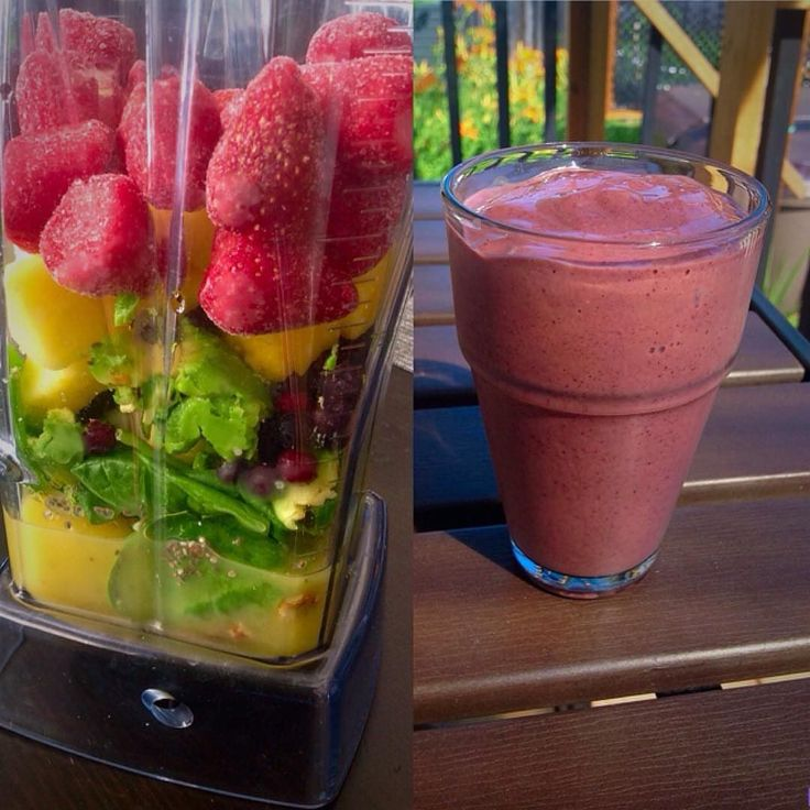 Perfect way to start the day!! Strawberry blueberry pineapple banana avocado and spinach smoothie with chia hemp and flax seeds.  #smoothie  #delicious #nutritious #vegan #vegetarian #whatveganseat #fitfam #whatvegetarianseat #whatvegansdrink #whatvegetariansdrink #relax #healthy #healthyfood #healthychoices #plantbased #vitamix #avocado #pineapple #chia #flax #hempseeds #spinach #greens #hempfood #instahemp #hippielife #hippiestyle  Great post by @julieboniecki