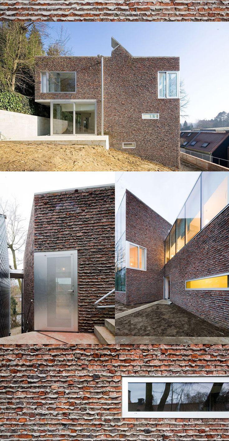 1000 images about bricks blocks ladrillo y bloques on - Fachadas de ladrillo visto ...