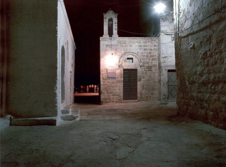 Luigi Ghirri, Chiesa di Santo Stefano – Polignano a Mare, 1987  Stampa fotografica, cm 30×40