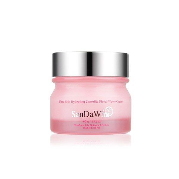 Sandawha Ultra Rich Hydrating Camellia Floral Water Cream 60g Grape Skin Beauty Diy Skincare Simple Skincare