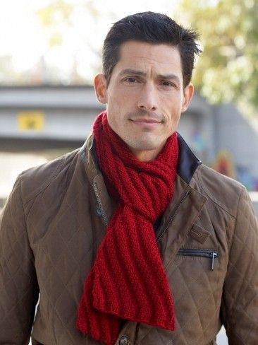 Free knitting patterns for Men's Interchangeable Scarves and more knitting patterns for men http://intheloopknitting.com/knitting-patterns-for-men/