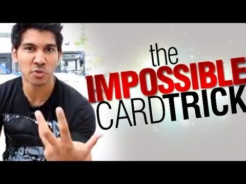 ▶ Learn Magic Tricks: The Impossible Card Trick! - YouTube