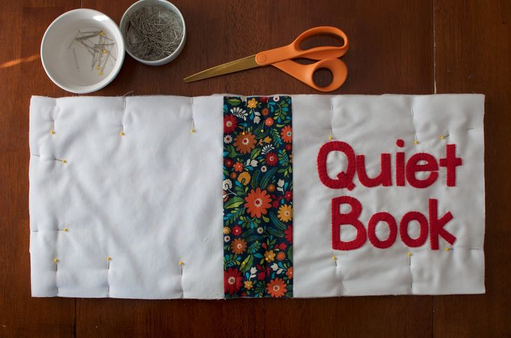 The Perfect Quiet Book Cover Tutorial - so cute!