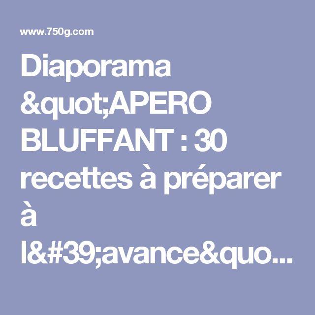 "Diaporama ""APERO BLUFFANT : 30 recettes à préparer à l'avance"" - Arancini"