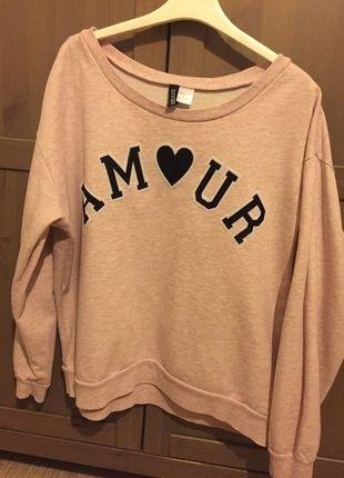 Kup mój przedmiot na #vintedpl http://www.vinted.pl/damska-odziez/bluzy/12038272-stylowa-rozowa-bluza-hm