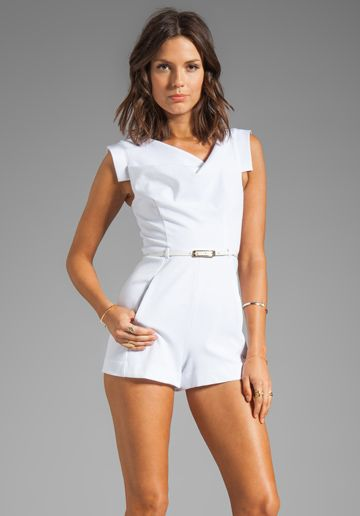 Black halo jackie o white dress