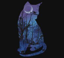 CAT MOON by peter chebatte