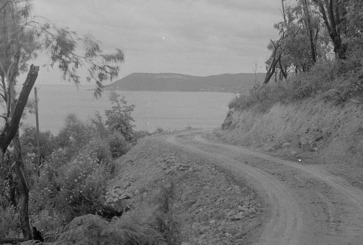 Great Ocean Road, more than 80 years ago.