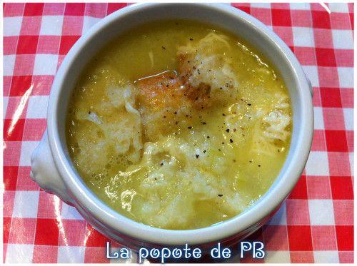 Soupe à l'oignon au Thermomix