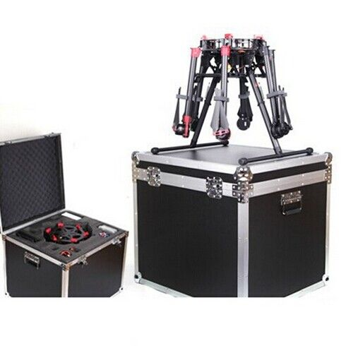 DJI S900 ALUMINUM HARD CASE$849.99 This spacious pelican case comes with custom-cut foam that allocates space for up to four batteries and two radios. Custom foam is housed in a high end Pelican military spec case used by military and industrial leaders  Features  Aluminum ABS Case for DJI S900 Weight: 15kg Case Size : 630mm x 560mm x 570mm