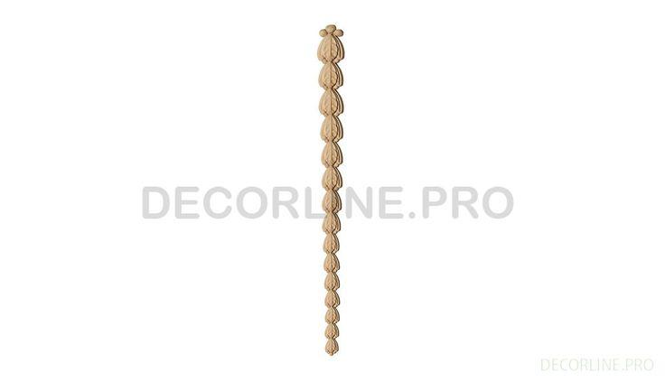 ОРНАМЕНТЫ из древесной пасты OR-50 Размер/Size: 257-21-7. Резной декор из древесной пасты, древесной пульпы, полимера, полиуретана, ППУ, МДФ, прессованный декор, декор из массива, декор из дерева