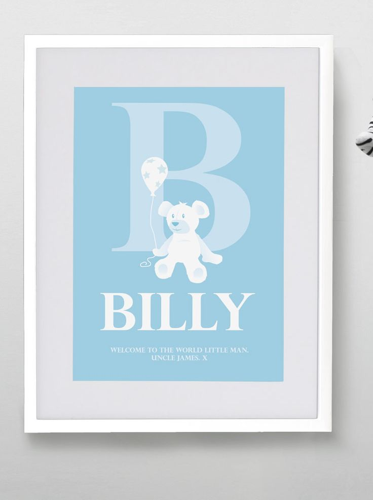 Personalised kids prints from MAYKI.