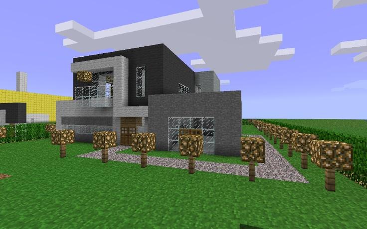 M s de 25 ideas nicas sobre casa modernas de minecraft en for Minecraft moderno