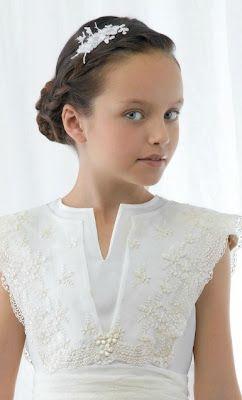 LUPITAAAAAAAA // Peinados y Estilos de Moda: Bonitos Peinados para tu Primera Comunión 2012