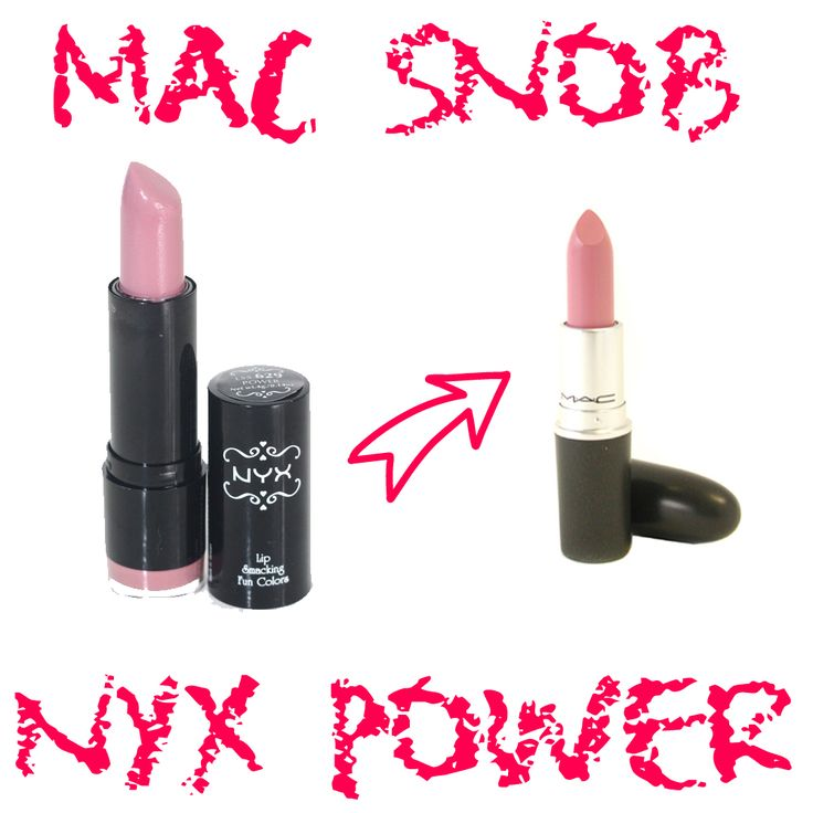MAC Snob Dupe NYX Power