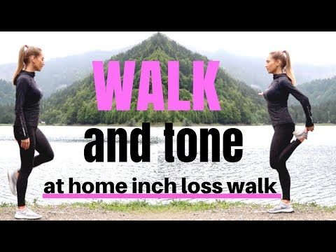 (30) WALKING WORKOUT - Indoor Walk at home for weight loss, suitable for beginners, tone & burns calories - YouTube