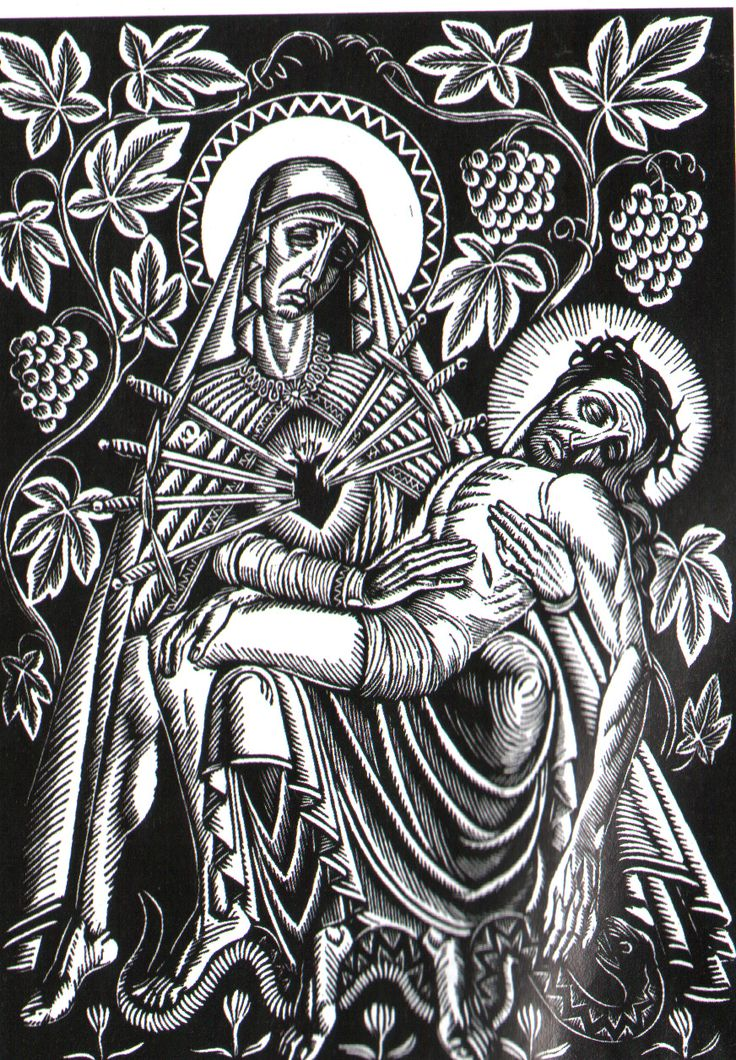 Władysław Skoczylas – Pieta