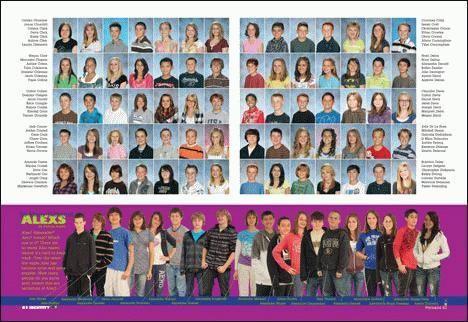 Elementary School Yearbook Sample | YearbookLife  |Find Middle School Yearbooks