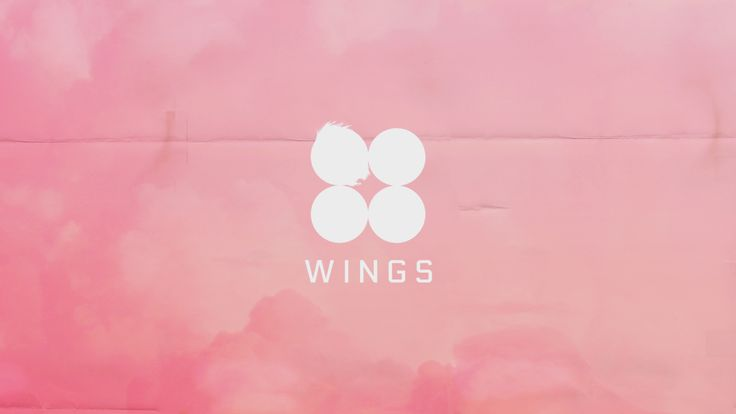 Wings Pink Desktop Background