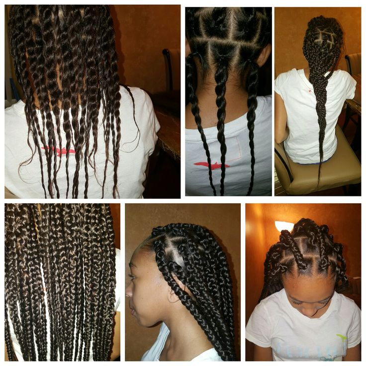 Best 25 Rubber Band Box Braids Ideas On Pinterest