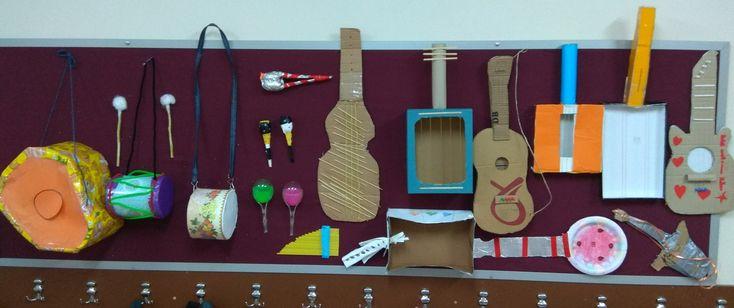 Müzik aletleri, atık malzemelerle müzik aleti yapımı, yapay ses kaynakları, sanat etkinlikleri.