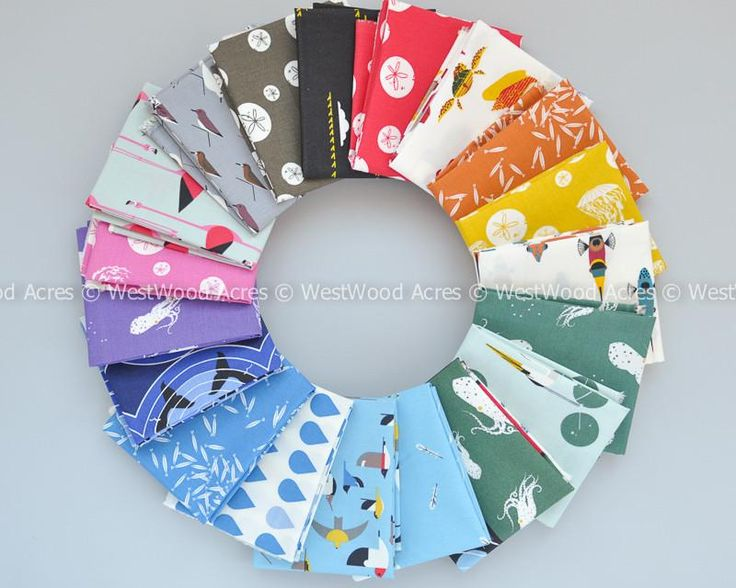 Charley Harper Maritime Fat Quarter Bundle