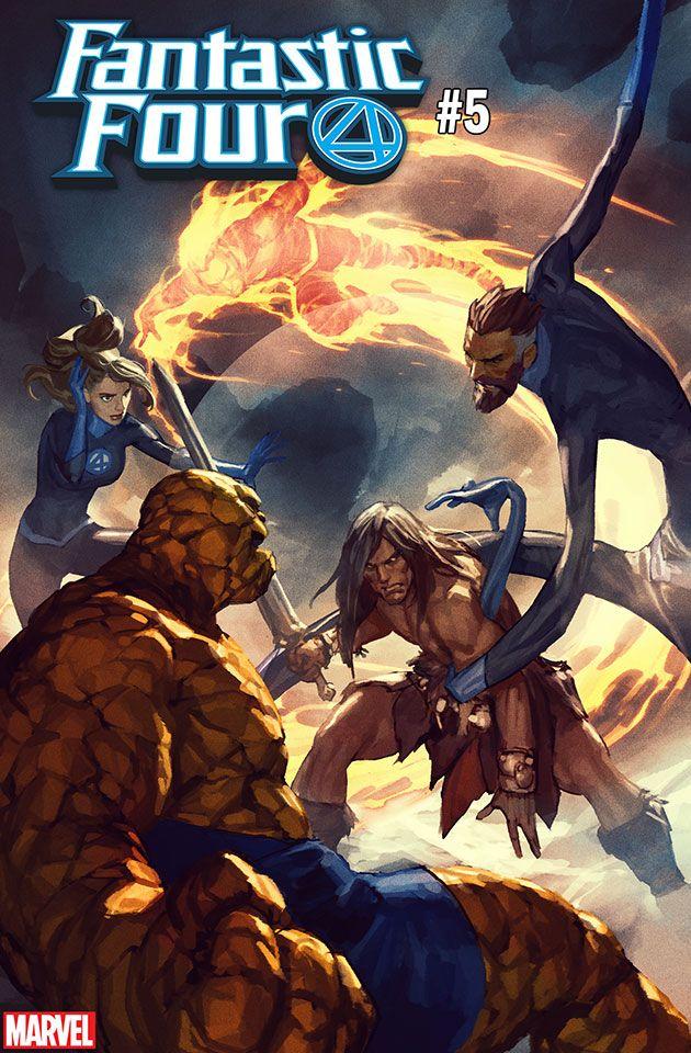 Marvel Comics Fantastic Four #5 Variant Edition VS Conan the Barbarian NEW