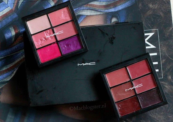 MAC Pro Makeup Lip Palette: Professionele Make-up Merken waar visagisten mee werken