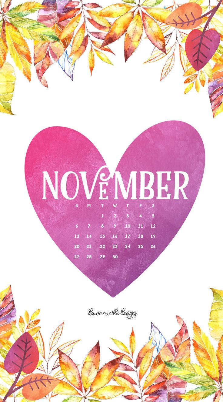 November iphone wallpaper tumblr - November 2016 Calendar Phone Dnd Jpg 740 1334 Calendar Wallpaperiphone