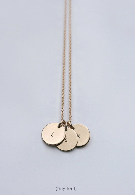 initial necklace disc necklace personalized mom necklace letter necklace gold initial necklace mom necklace luca jewelry