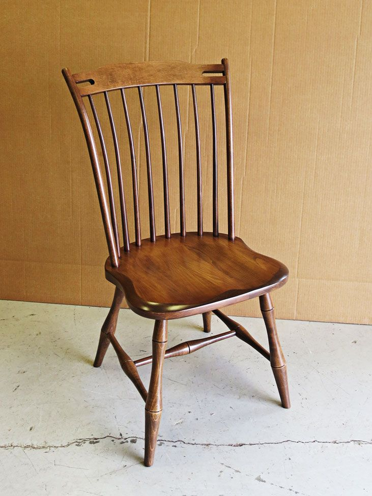 The Freeport Side Chair Has A Nicely Shaped Back That Offers Style And Support Wood