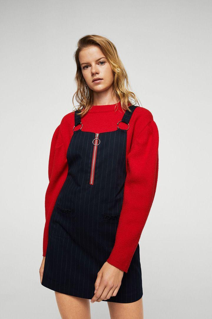 Los pichis son siempre una prenda cómoda y versátil. Jugando con la superposición de capas conseguirás conjuntos ideales para el invierno.
