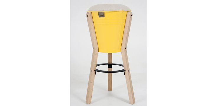 Bucket Barstool (comes in bright colours) R1550