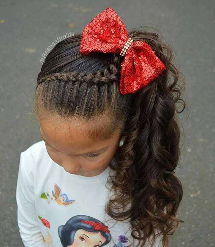 Ideas bonitas para peinados bebe niña Imagen de cortes de pelo Ideas - Trenzas   Peinados infantiles, Peinados con trenzas para ...