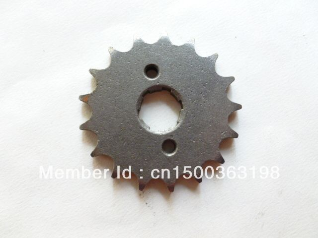 28 20mm 17 tooth Front Sprocket 17t  Pit GY Dirt Bike ATV QUAD 125cc 150cc 200cc,chinese motorcycle pit bike, GY motorbike 17T