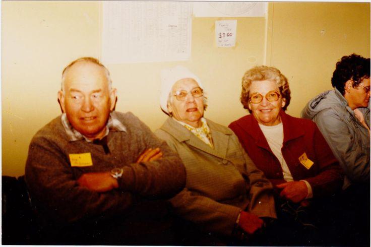 Bob  McGovern, Marcie Mathews & Betty McGovern, Charlie Mathews branch.