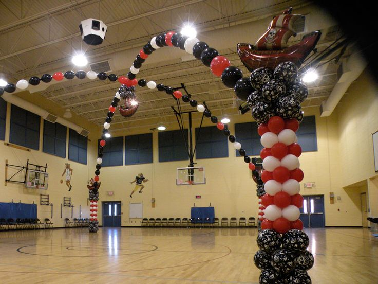 Pirate Themed Decorating Ideas Part - 34: Piratepartiesupplies | Knoxville Balloons | Knoxville Balloon Decor |  Balloon Designs ... Mylar BalloonsBalloon ArchBalloon IdeasBalloon  DecorationsPirate ...