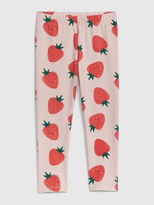 540c68c1cf48d Toddler Print Leggings In Stretch Jersey | Products | Leggings are ...