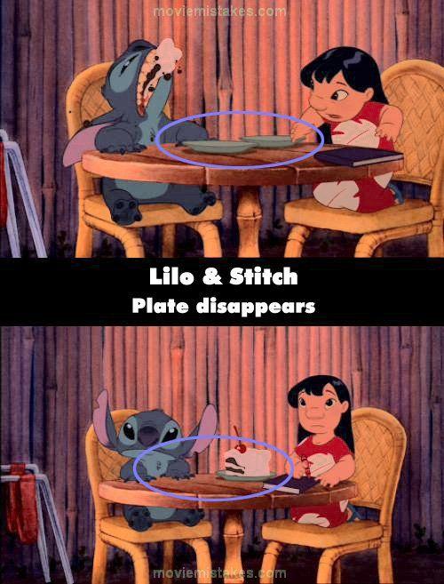 Lilo Amp Stitch Movie Mistake Picture