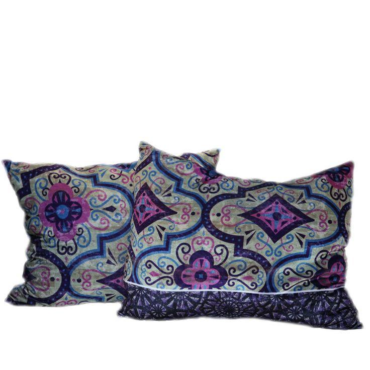 Бархатные #подушки Фиолет