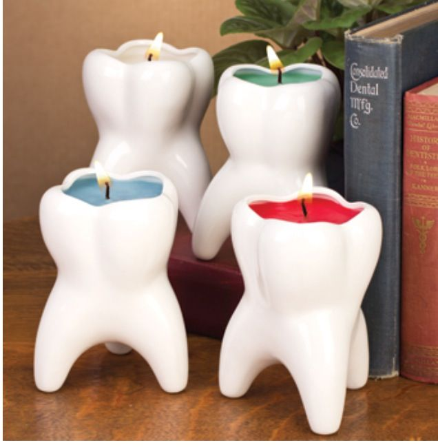 Tooth candles