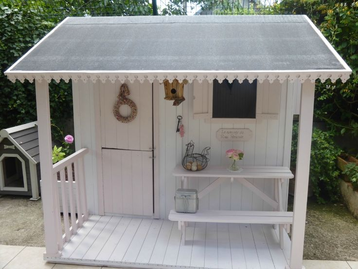 25 best ideas about maisonnette bois on pinterest for Cabane de jardin en bois leroy merlin