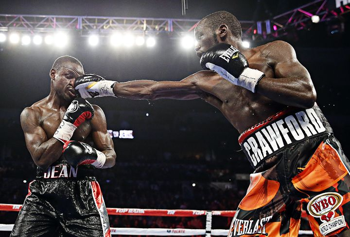 VIDEO Highlights of Terence Crawford vs Dierry Jean http://www.boxingnewsonline.net/watch-highlights-of-terence-crawford-versus-dierry-jean/ #boxing Photo @4MikeyWilliams